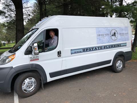 Jamie in Upstate van